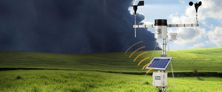 Estações Meteorológicas com Telemetria de Dados