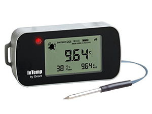 Data Logger de Temperatura Bluetooth Para Freezer INTEMP CX402-TxM
