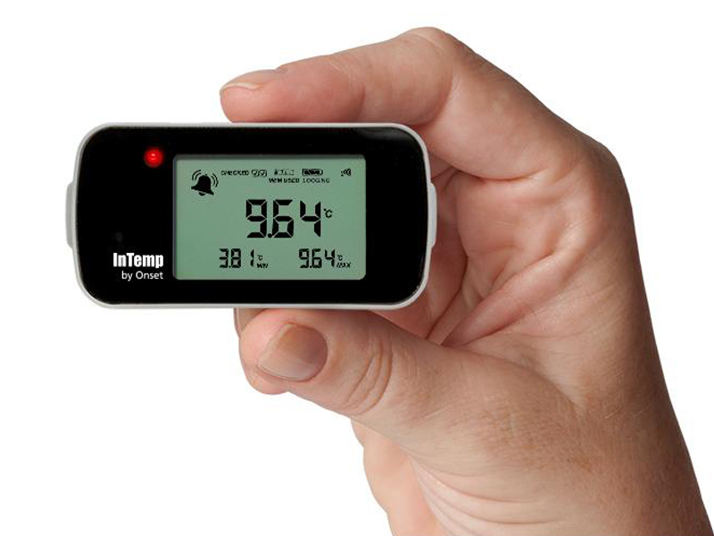 Data Logger de Temperatura Bluetooth Para Freezer INTEMP CX403