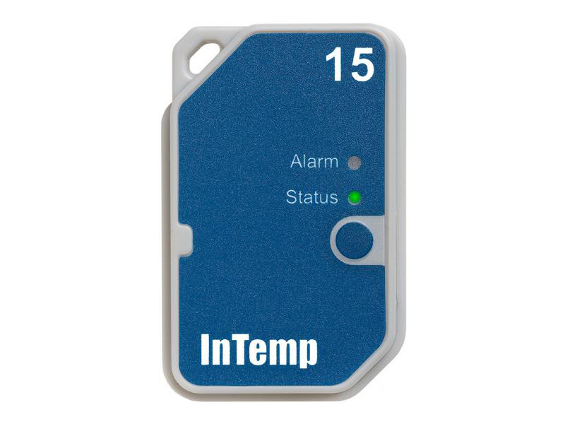 Data Logger de Temperatura Bluetooth Descartável Para Uso Em 15 Dias CX501
