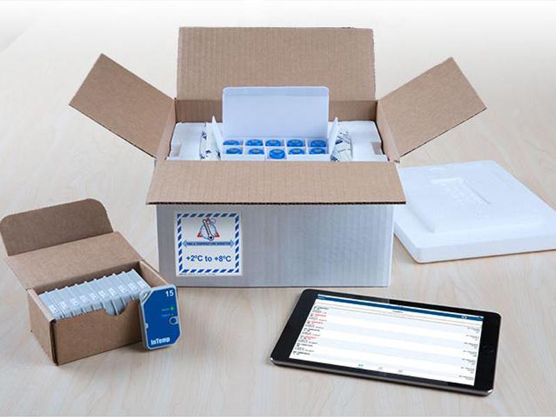 Data Logger de Temperatura Bluetooth Descartável Para Uso Em 90 Dias CX502