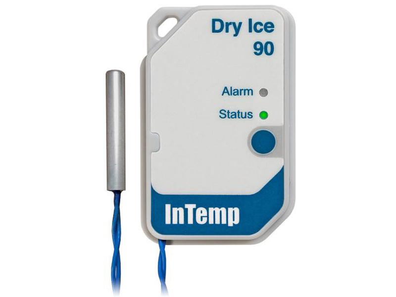 Data Logger de TemperaturaPara Gelo Seco Descartável Para Uso Em 90 Dias CX602