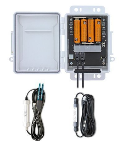 HOBO Data LoggerH21-USB com Sensor de Temperatura eSensor deUmidade doSolo- Comunicação USB
