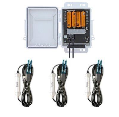 HOBO Data LoggerH21-USB comtrêsSensores deUmidade do Solo- Comunicação USB