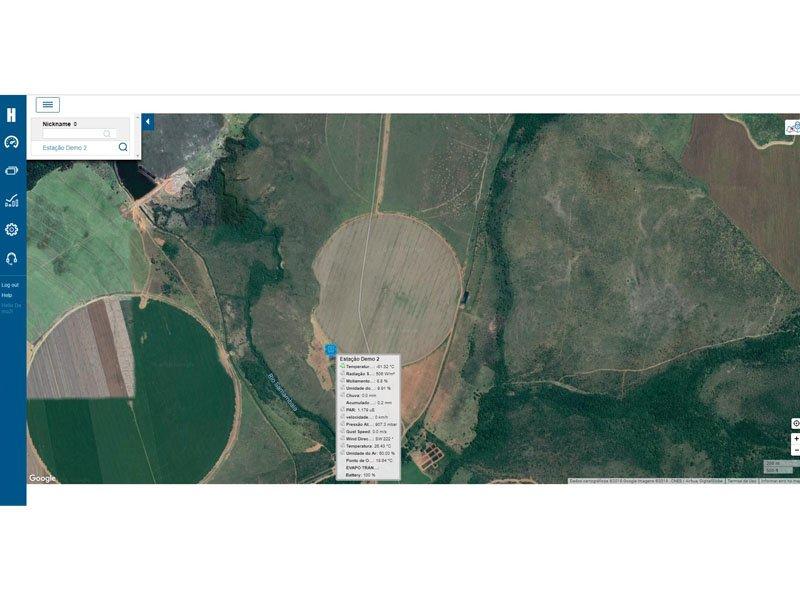 Estação Meteorológica Intermediária Onsetcom Telemetria de Dados EMI-RX-500