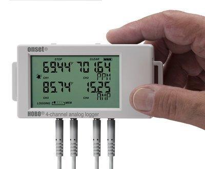 Data Logger Com Entrada AnalógicaPara 4 Sensores de Temperatura PT100 Com LCD UX120-006M e TMC20-HD