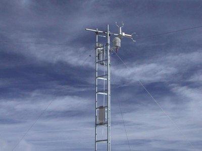 Sensor de velocidade do vento
