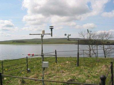Sensor de vento ultra-sônico